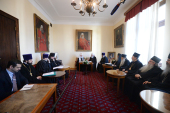 Состоялись переговоры Предстоятелей Русской и Сербской Православных Церквей