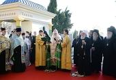 Святейший Патриарх Кирилл совершил освящение Русского некрополя в Белграде