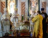 Слово Святейшего Патриарха Кирилла по окончании Литургии в белградском соборе святителя Саввы Сербского