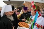 Предстоятель Украинской Православной Церкви посетил Роменскую епархию