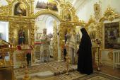 Святейший Патриарх Кирилл совершил Литургию в домовом храме Патриаршей резиденции в Переделкине