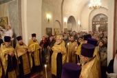 Актовый день состоялся в Православном Свято-Тихоновском гуманитарном университете в день памяти небесного покровителя учебного заведения