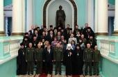 Представители Белорусской Православной Церкви и Министерства обороны Республики Беларусь обсудили вопросы реализации программы сотрудничества