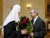 Встреча Святейшего Патриарха Кирилла с Е.М. Примаковым