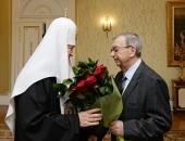 Святейший Патриарх Кирилл наградил Е.М. Примакова орденом «Славы и чести» I степени