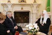 Святейший Патриарх Кирилл встретился с новоназначенным послом США в России Джоном Ф. Теффтом