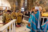 В неделю 24-ю по Пятидесятнице Блаженнейший митрополит Киевский и всея Украины Онуфрий совершил Литургию в Киево-Печерской лавре