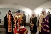 Члены делегации Московского Патриархата посетили монастырь Рождества Христова на Шипке