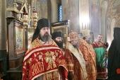 Святейший Патриарх Болгарский Неофит возглавил праздничное богослужение по случаю столетия великого освящения русского Никольского храма-подворья в Софии