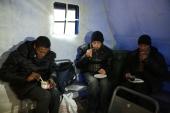 На территории Синодального отдела по благотворительности открылся отапливаемый «Ангар спасения» для бездомных