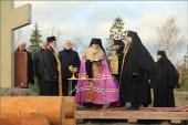 На Валааме заложен новый скит в честь апостола Андрея Первозванного