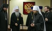 Блаженнейший Митрополит всей Америки и Канады Тихон прибыл в Москву