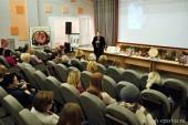 В архангельской библиотеке представили православный проект для слабовидящих людей, победивший в конкурсе «Православная инициатива»