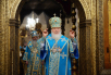 Служение Предстоятелей Русской Православной Церкви и Православной Церкви в Америке в праздник Введения во храм Пресвятой Богородицы в Успенском соборе Московского Кремля