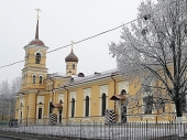 Святейший Патриарх Кирилл совершит освящение храма преподобного Сергия Радонежского в Царском Селе
