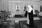 Святейший Патриарх Кирилл совершил литию по приснопамятному Патриарху Алексию II