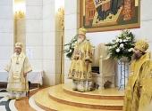 Предстоятель Русской Церкви совершил Литургию в кафедральном соборе Христа Спасителя в Калининграде