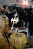 Патриарший визит в Санкт-Петербургскую митрополию. Освящение храма преподобного Сергия Радонежского в Царском Селе, Божественная Литургия. Посещение храма прп. Сергия Радонежского Президентом России В.В. Путиным