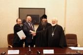 Свято-Тихоновский университет поможет в развитии богословского образования в Поморье