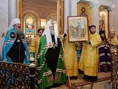 Проповедь Святейшего Патриарха Кирилла после Литургии в Иоанно-Предтеченском монастыре г. Москвы