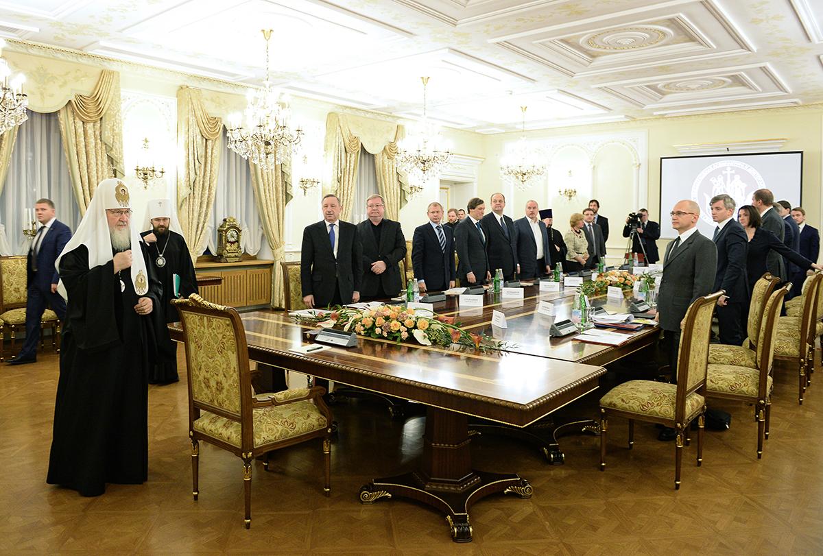 Заседание Наблюдательного совета Общецерковной аспирантуры и докторантуры