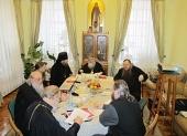 Состоялось последнее в этом году заседание Синодальной богослужебной комиссии