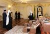 Передача документов из архива Святейшего Патриарха Кирилла в архивы церковных организаций