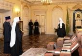 Святейший Патриарх Кирилл передал в архивы церковных организаций документы из личного архива