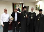 Состоялась встреча временного управляющего Патриаршим благочинием в Туркмении и председателя Совета по делам религии при Президенте Туркменистана