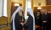 Председатель Отдела внешних церковных связей Московского Патриархата удостоен высшей награды Болгарской Православной Церкви