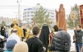 В Альметьевске установлен памятник Патриарху Гермогену