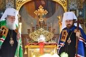 В день памяти святителя Николая митрополит Волоколамский Иларион совершил Литургию на Патриаршем подворье в Софии