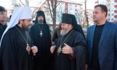От имени Святейшего Патриарха Кирилла председатель ОВЦС передал колокола в дар Великотырновской епархии Болгарской Церкви