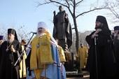 В Минеральных Водах освящен памятник преподобному Сергию Радонежскому