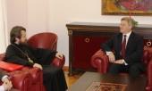 Состоялись встречи председателя ОВЦС Московского Патриархата с Президентом и Премьер-министром Республики Македония