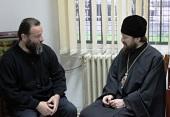 Митрополит Волоколамский Иларион встретился с архиепископом Иоанном (Вранишковским)