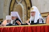 Святейший Патриарх Кирилл: На приходах должна быть правильно поставлена работа по приобщению к общине тех, кто только входит в храм