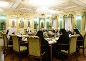 Под председательством Святейшего Патриарха Кирилла началось последнее в 2014 году заседание Священного Синода