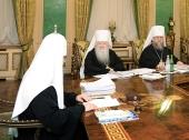 Священный Синод призвал усилить работу по развитию молодежного служения в епархиях
