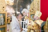 Предстоятель Украинской Православной Церкви возглавил хиротонию архимандрита Тихона (Чижевского) во епископа Ивано-Франковского и Коломыйского
