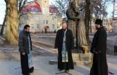 В Рославле освящен памятник святым благоверным Петру и Февронии Муромским
