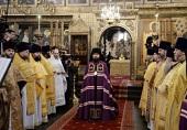 Слово Святейшего Патриарха Кирилла при вручении архиерейского жезла Преосвященному Антонию (Доронину), епископу Слуцкому и Солигорскому