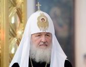 Святейший Патриарх Кирилл: «Мое сердце с народом Украины»