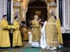 Патриаршее служение в праздник Рождества Христова в Храме Христа Спасителя в Москве