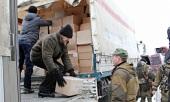 Донская митрополия передала рождественские подарки и продукты питания жителям Донецкой и Луганской областей