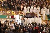 В Храме Христа Спасителя состоялось отпевание Елены Образцовой