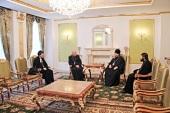 Глава Митрополичьего округа Русской Православной Церкви в Казахстане провел ряд встреч с государственными и религиозными деятелями
