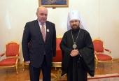 В Доме приемов Министерства иностранных дел России состоялся Рождественский обед