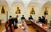 В Высоко-Петровском ставропигиальном монастыре прошел круглый стол «Ученое монашество сегодня»