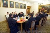 В ОВЦС прошло заседание рабочей группы Оргкомитета Русской Церкви по празднованию 1000-летия преставления Крестителя Руси